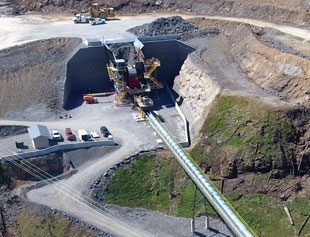Allegheny Mineral Mine 24 Crushing Station