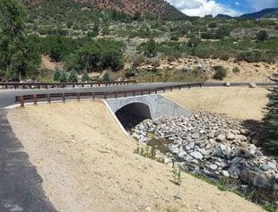 CR 137 over Canyon Creek