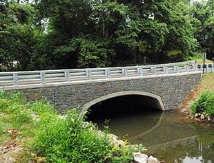 Garrett's Mill Road over Israel Creek